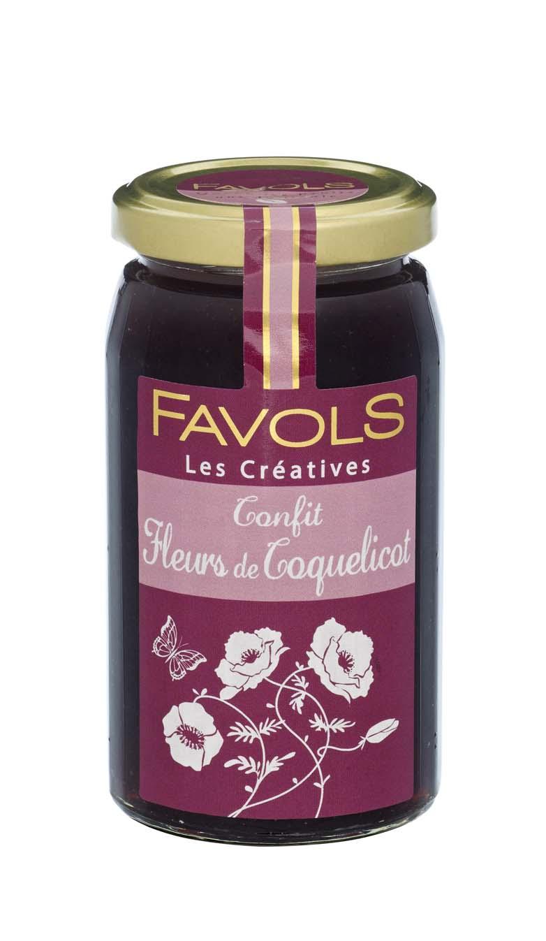 Confit de fleurs de coquelicot, Favols (270 g)
