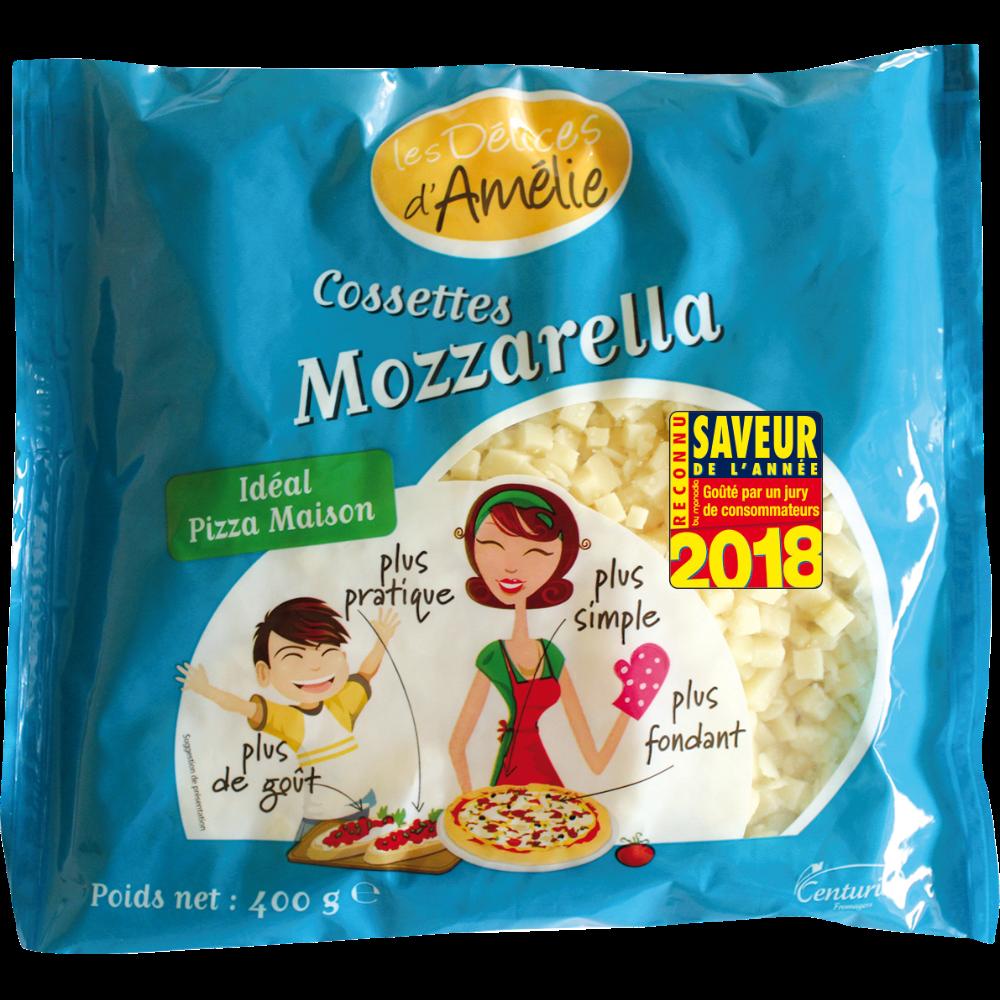 Cossettes mozzarella, Les délices d'Amélie (400 g)