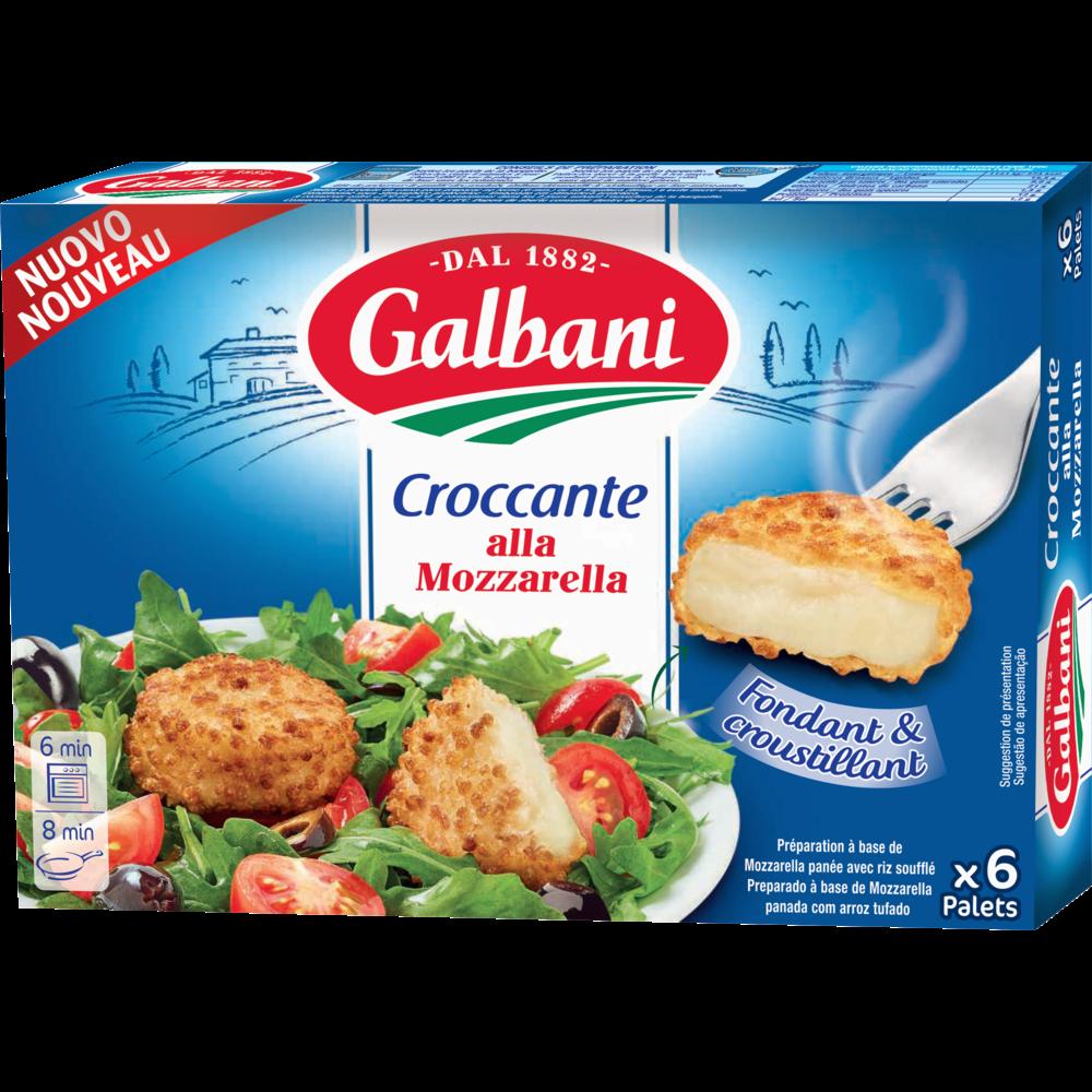 Croccante alla mozzarella, Galbani (150 g)