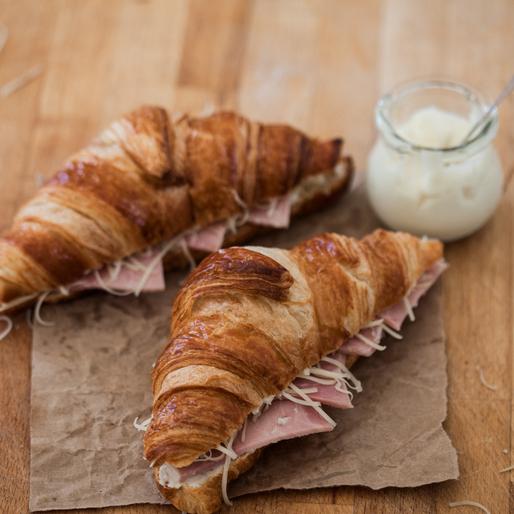 Kit 4 Croissants au jambon