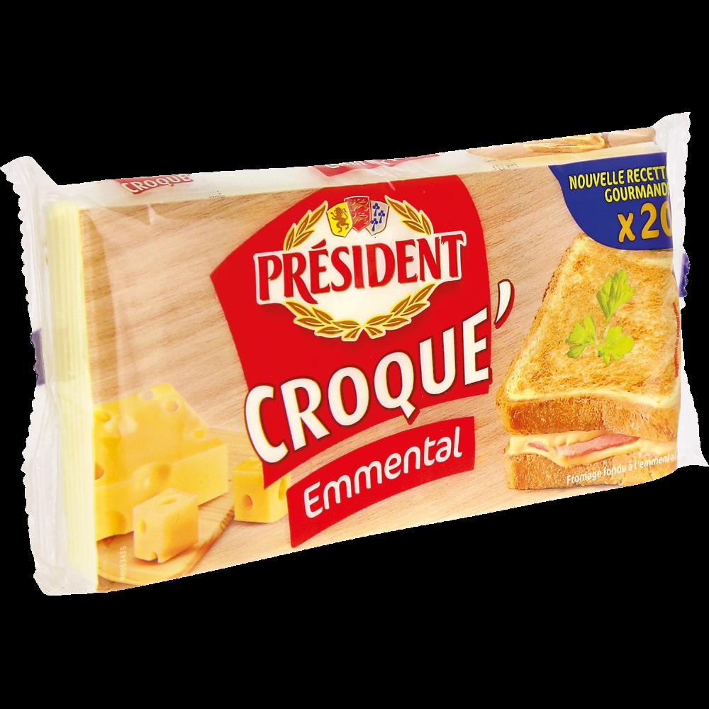 Croque'Emmental, Président (x 20, 340 g)