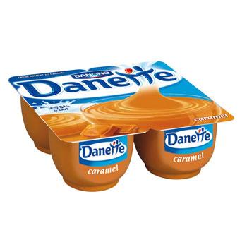 Danette caramel (4 x 125 g)