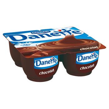 Danette chocolat (4 x 125 g)
