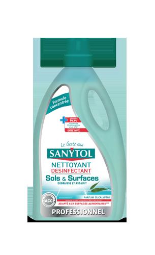 Nettoyant désinfectant sols/surfaces, Sanytol (1 L)