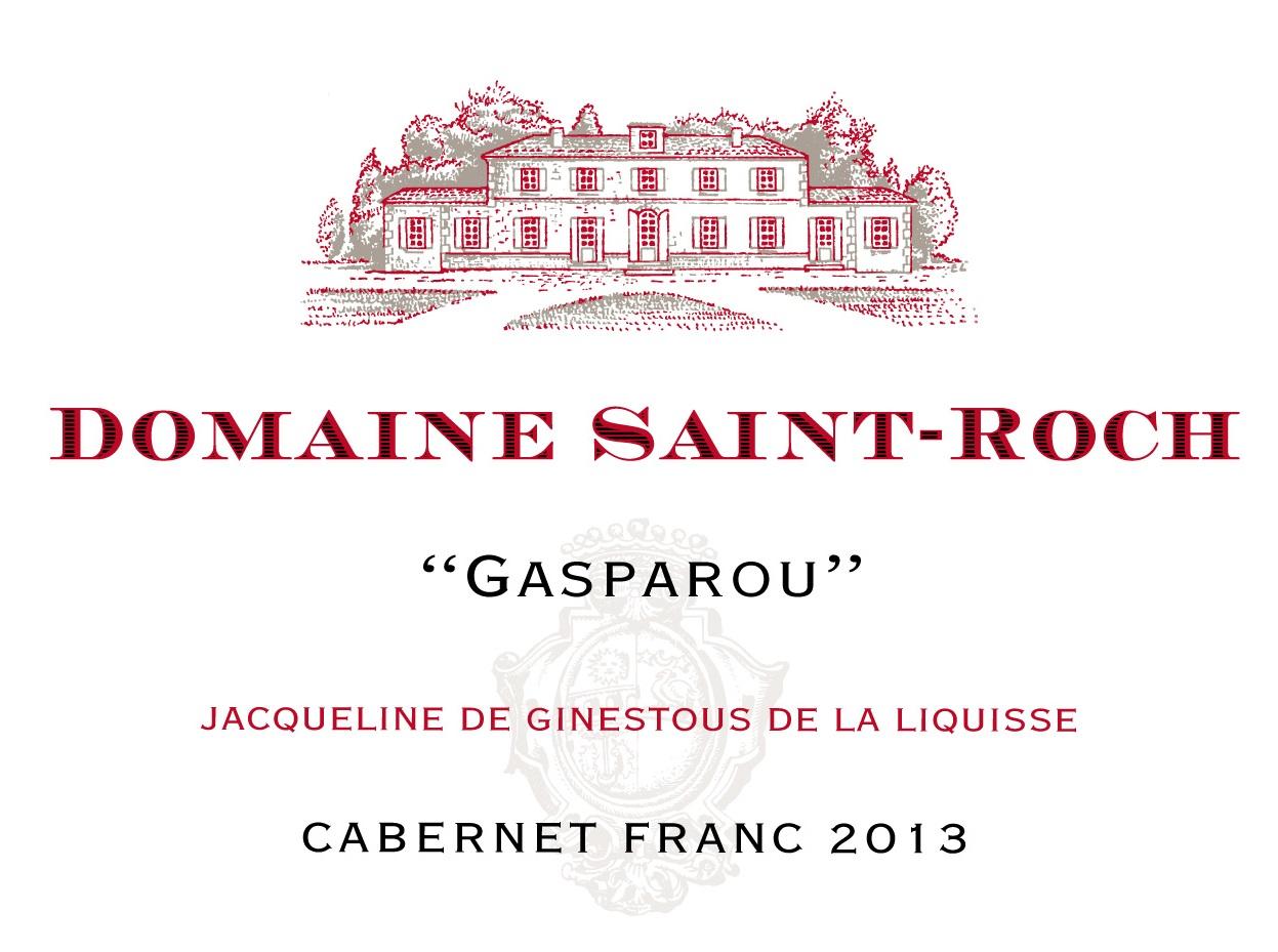 Domaine Saint Roch rouge Cabernet Franc 2014