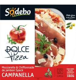 "Pizza ""Dolce"" Campanella, Sodebo (380 g)"
