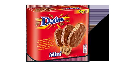 Mini bâtonnets au Daim (x 6)