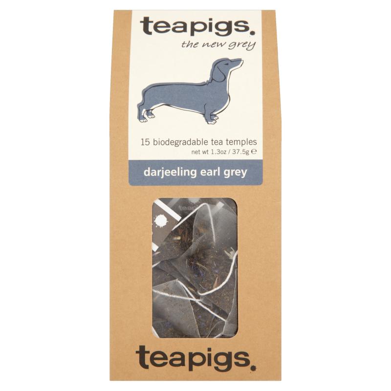 Thé Darjeeling Earl Grey, Teapigs (x 15 sachets)