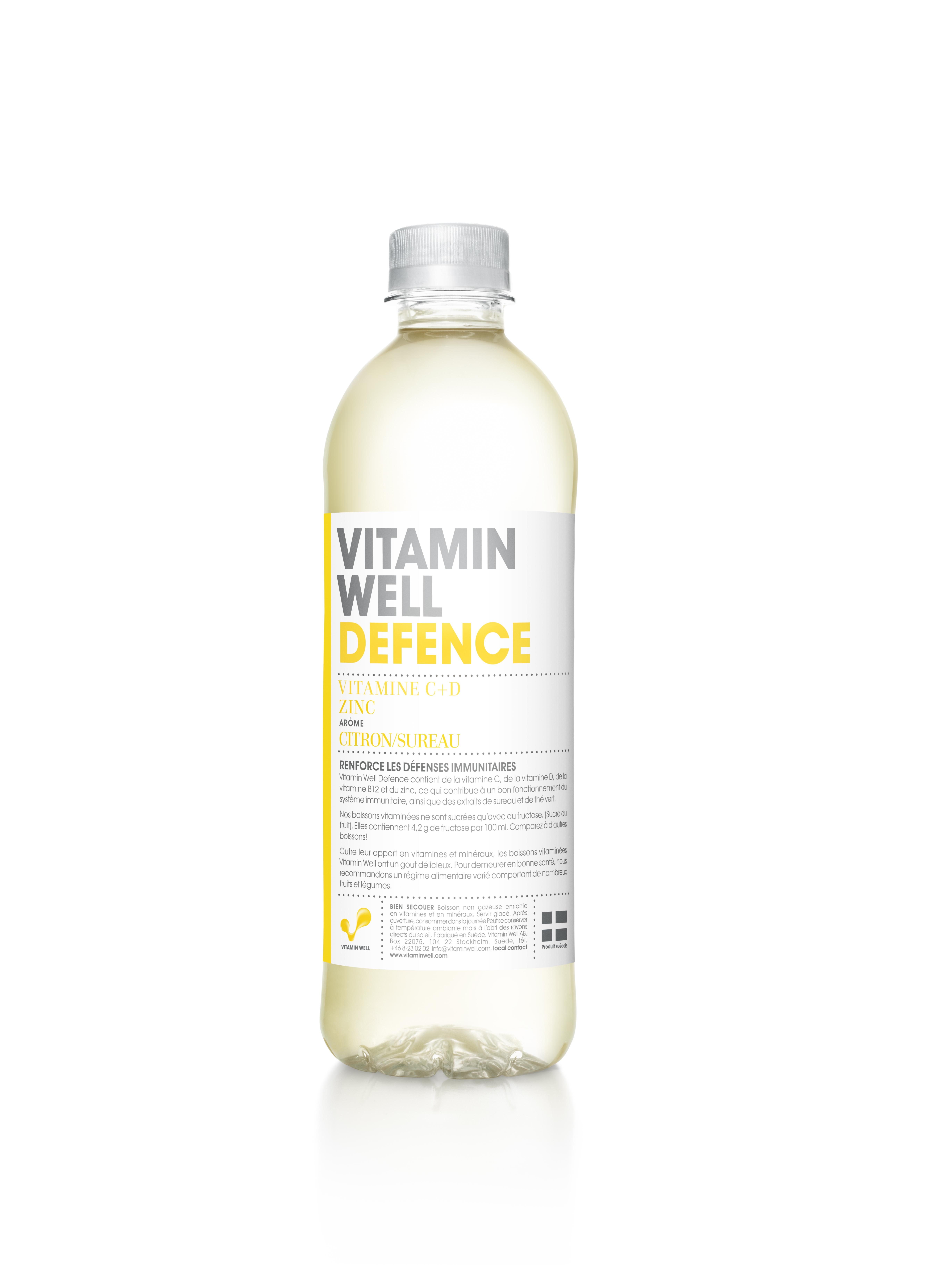 Vitamin Well Defence - citron & fleur de sureau (50 cl)