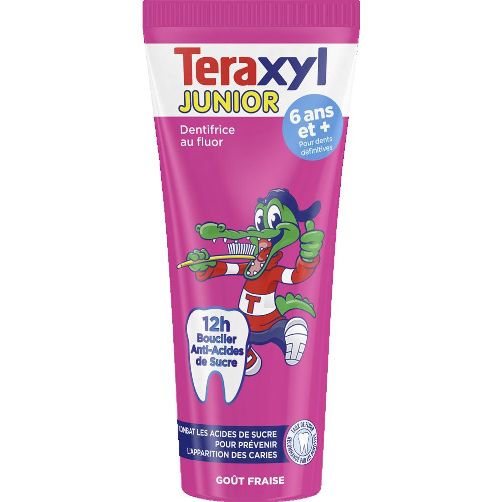 Dentifrice Junior Fraise 6 ans et +, Teraxyl (75 ml)