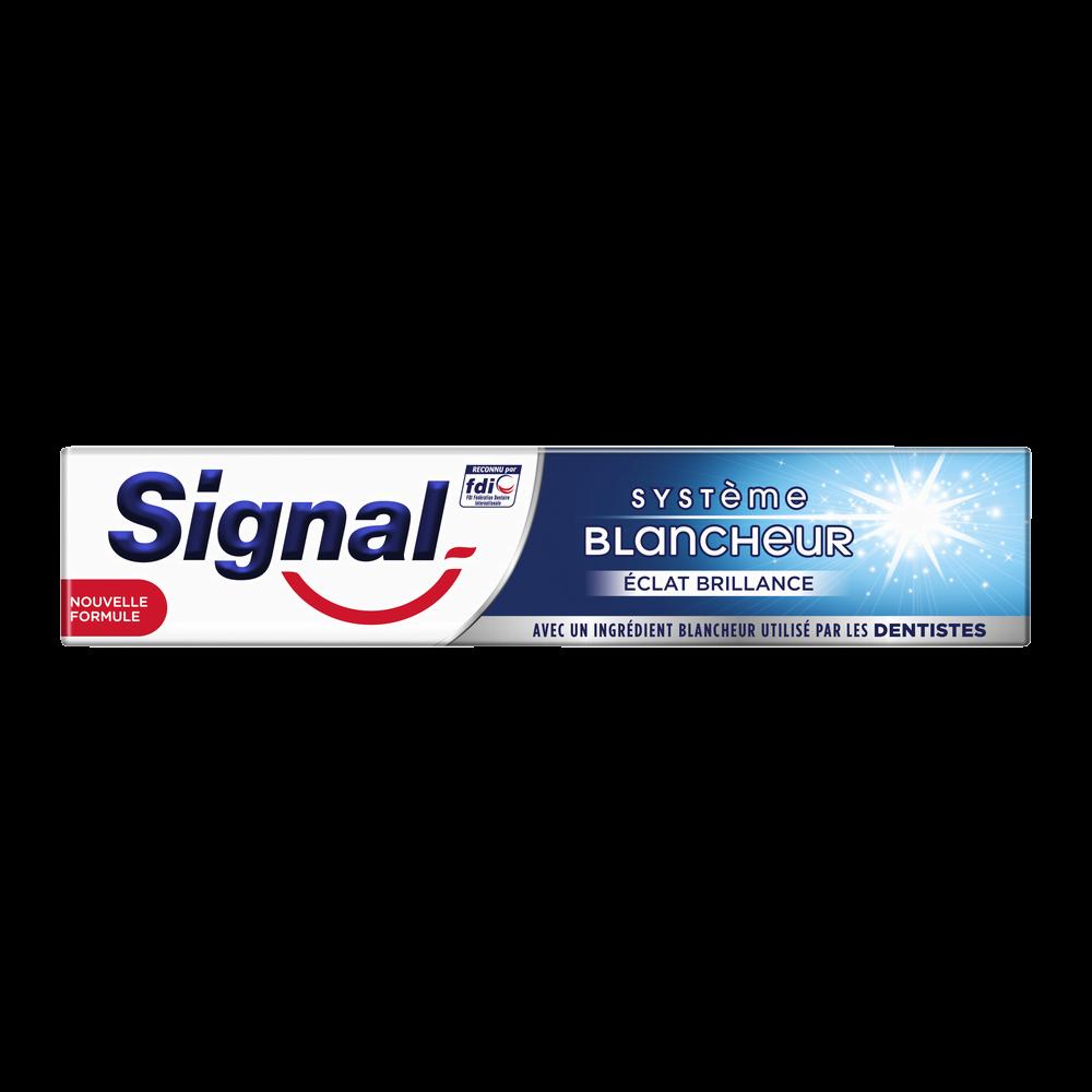 Dentifrice système blancheur éclat brillance, Signal (75 ml)