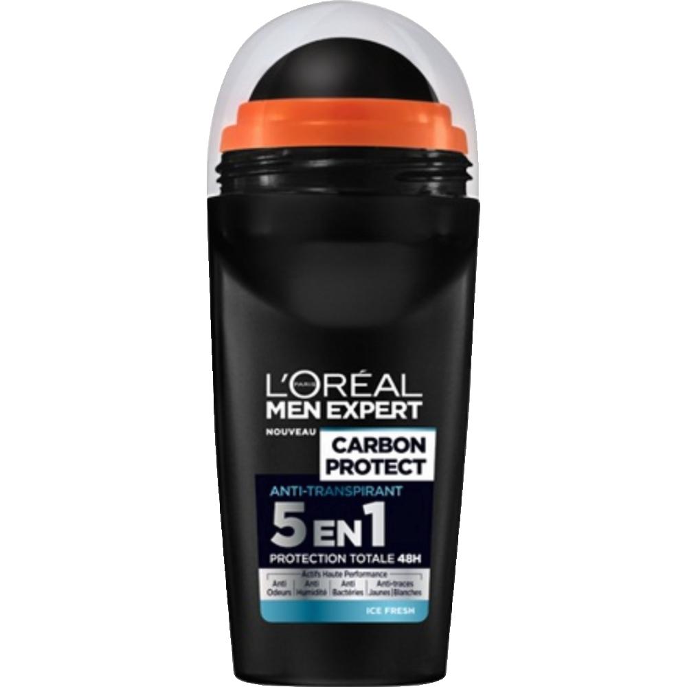 Déodorant bille Carbon Intense Ice, Men Expert (50 ml)