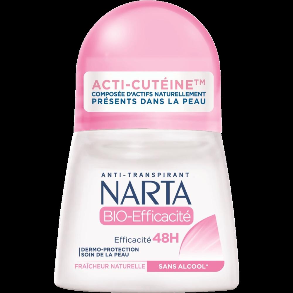 Déodorant bille BIO efficacité, Narta (50 ml)
