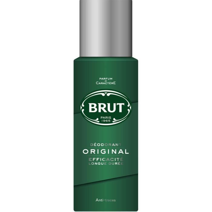 Déodorant Spray Original, Brut (200 ml)