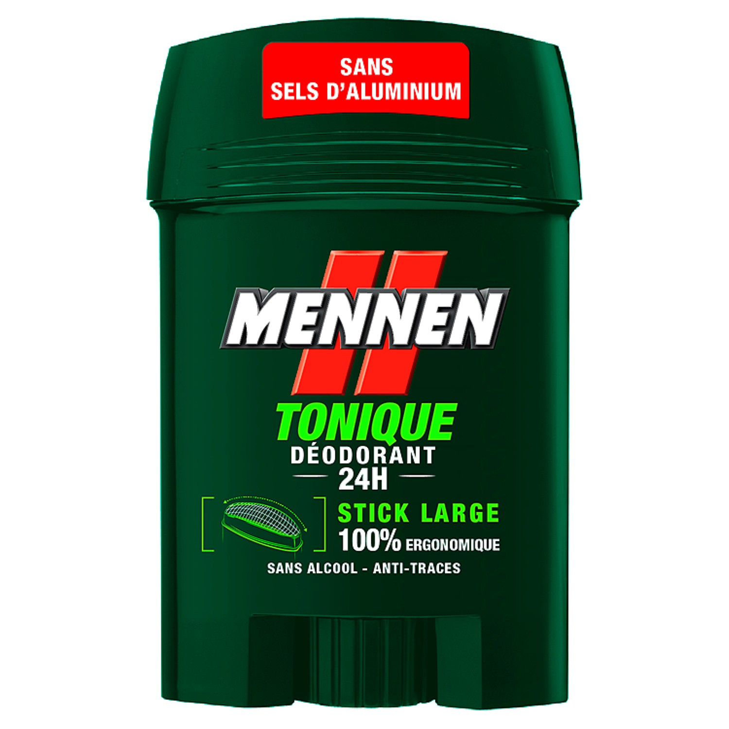 Déodorant stick 24H Tonique, Mennen (50 ml)