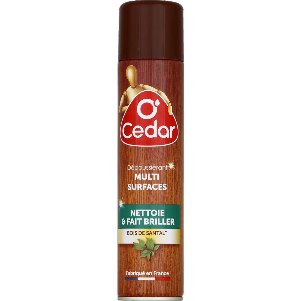 Dépoussiérant nourrissant tous types de bois, Ocedar (300 ml)
