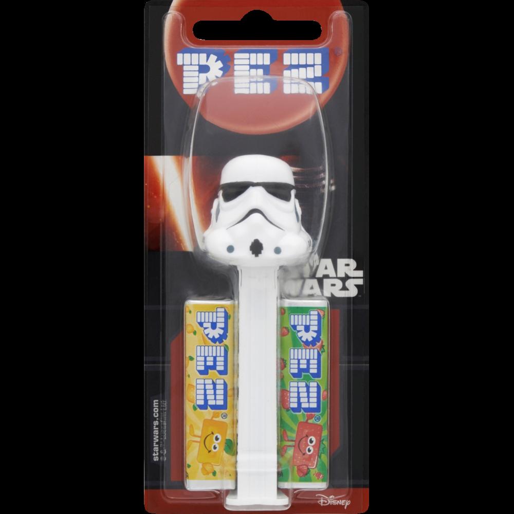 Distributeur de bonbons Star Wars et 4 recharges, Pez (34 g)