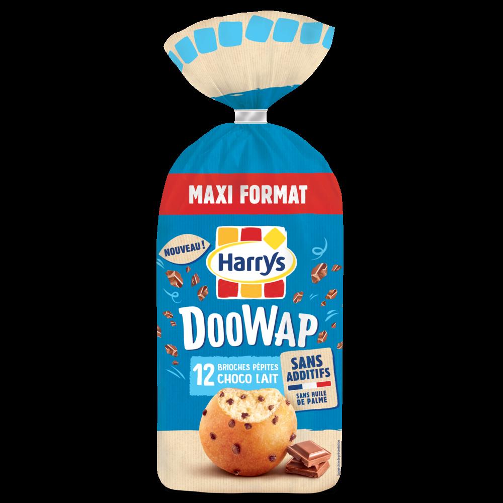 Doowap aux pépites de chocolat au lait, Harry's (x 12, 480 g)