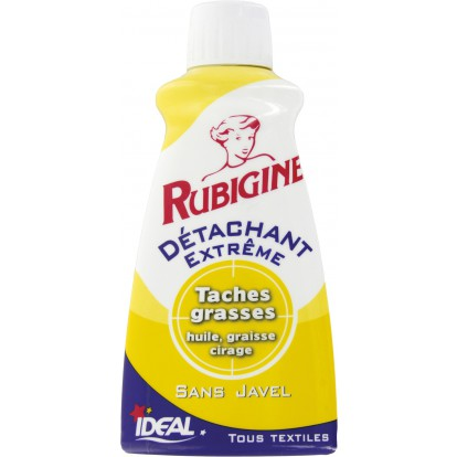Flacon détachant tâches grasses, Rubigine (100 ml)