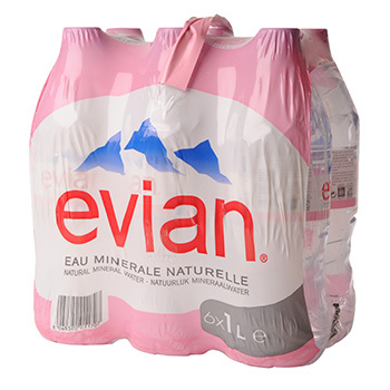 Pack d'Evian (6 x 1 L)
