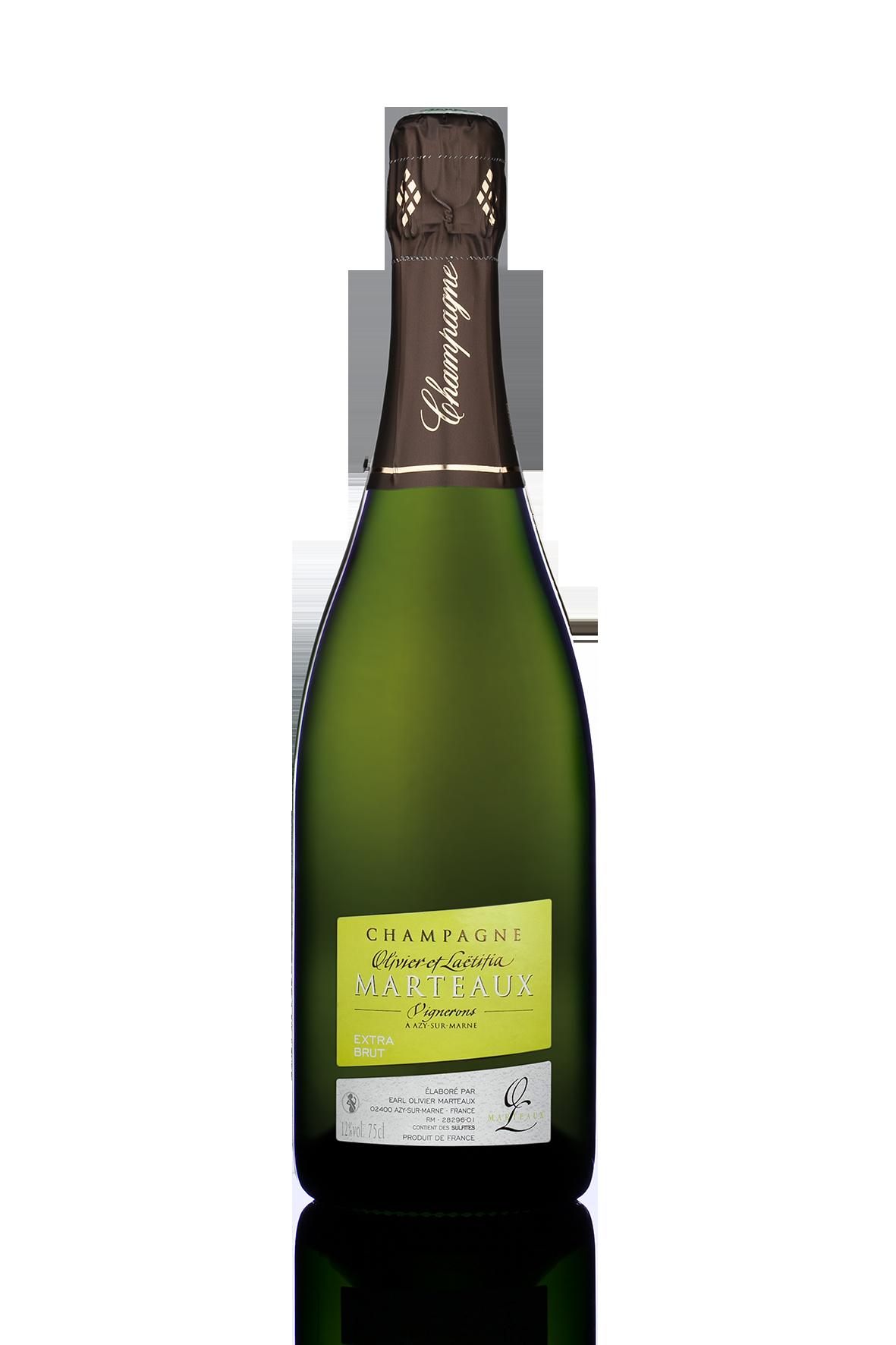 Champagne Extra Brut, Olivier et Laetitia Marteaux (75 cl)