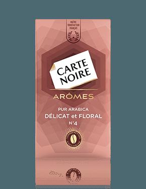 Café moulu arômes délicat n°4, Carte Noire (250 g)