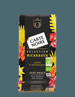 Café moulu sélection Nicaragua BIO, Carte Noire (250 g)