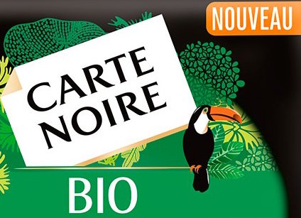 Café moulu BIO, Carte Noire (250 g)