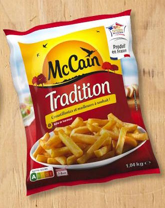 Frites Tradition, Mac Cain (1.04 kg)