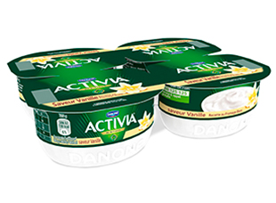 Fromage Blanc Saveur Vanille Activia (4 x 125 g)
