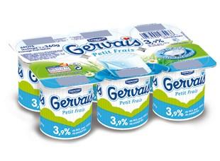 Petit Frais Gervais 3,9%, Danone (6 x 60 g)