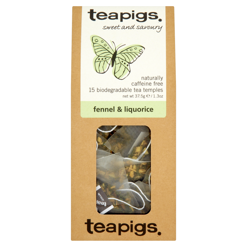Infusion fenouil et réglisse, Teapigs (x 15 sachets)