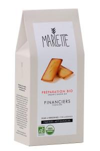 """Préparation """"Financiers"""" Bio, Marlette"""