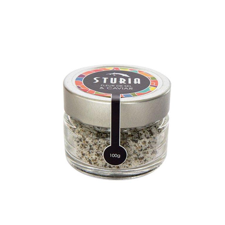 Fleur de sel au caviar, Sturia (40 g)