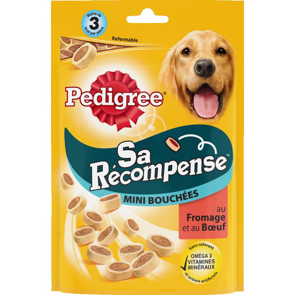 Friandises pour chien Sa récompense mini bouchées au boeuf et au fromage, Pedigree (140 g)