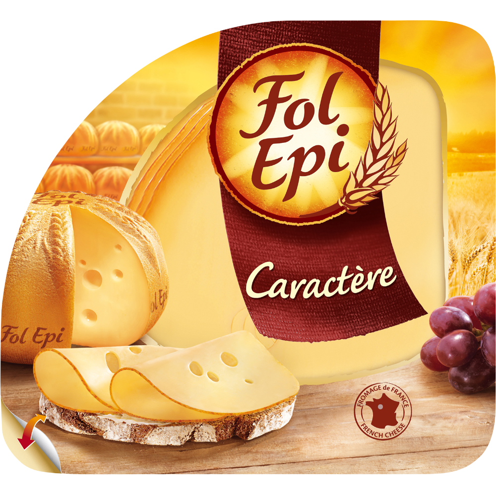 Fromage caractère, Fol Epi (x 6, 150 g)
