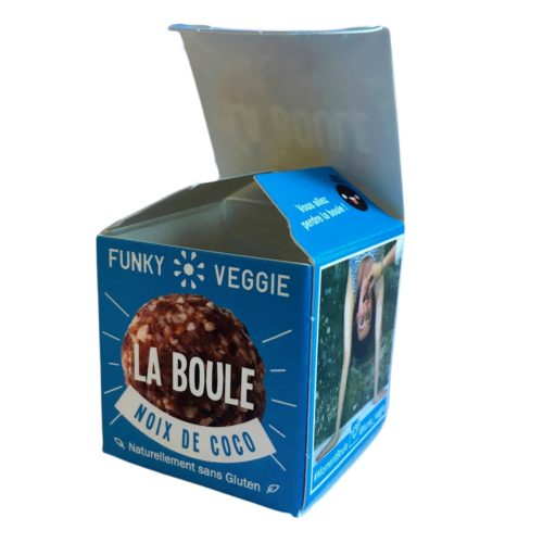 La boule Coco, Funky Veggie (23 g)