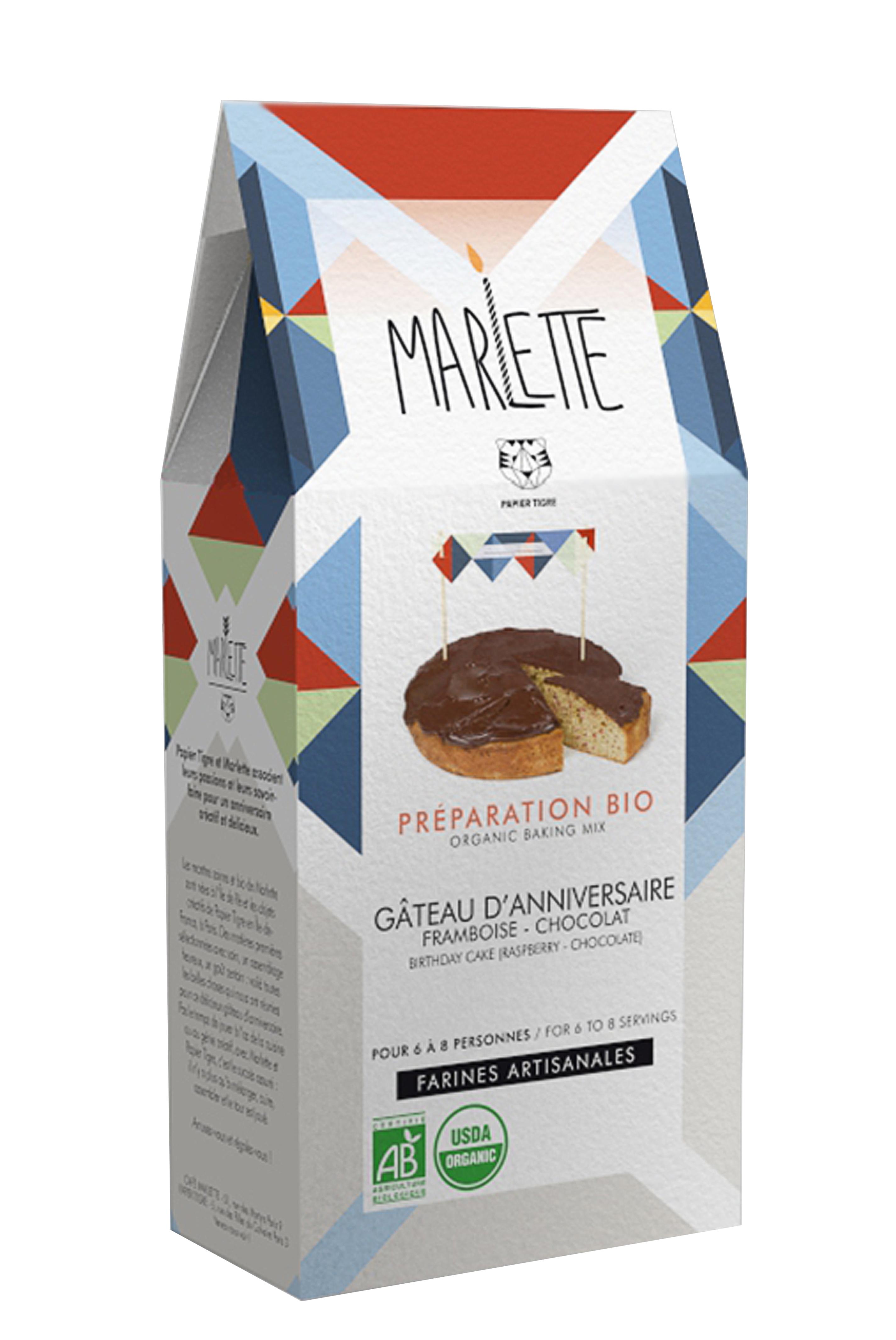 """Préparation """"Gâteau d'Anniversaire"""" Bio, Marlette"""