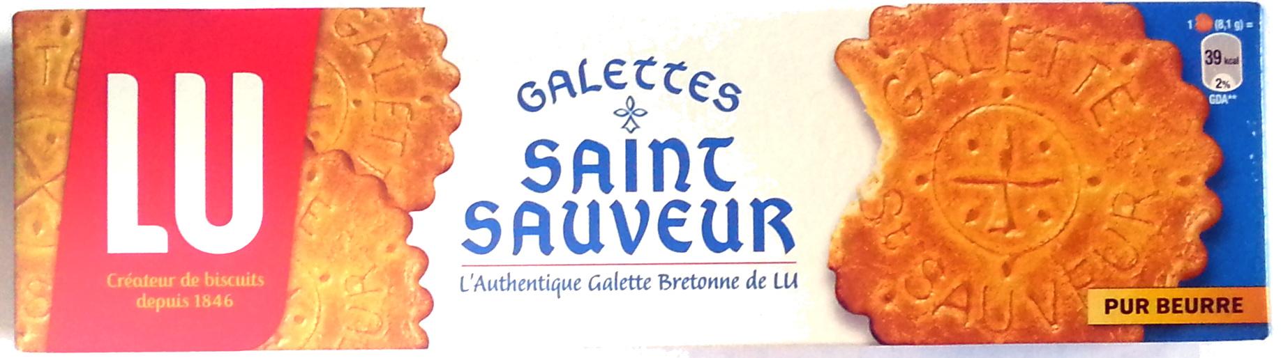 Galettes St Sauveur, Lu (130 g)