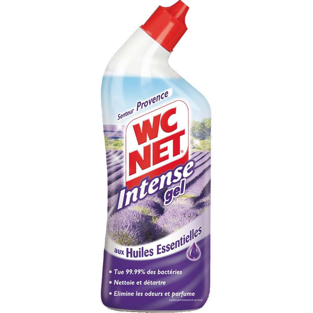 Gel détartrant senteur Provence aux huiles essentielles, WC Net Intense (750 ml)