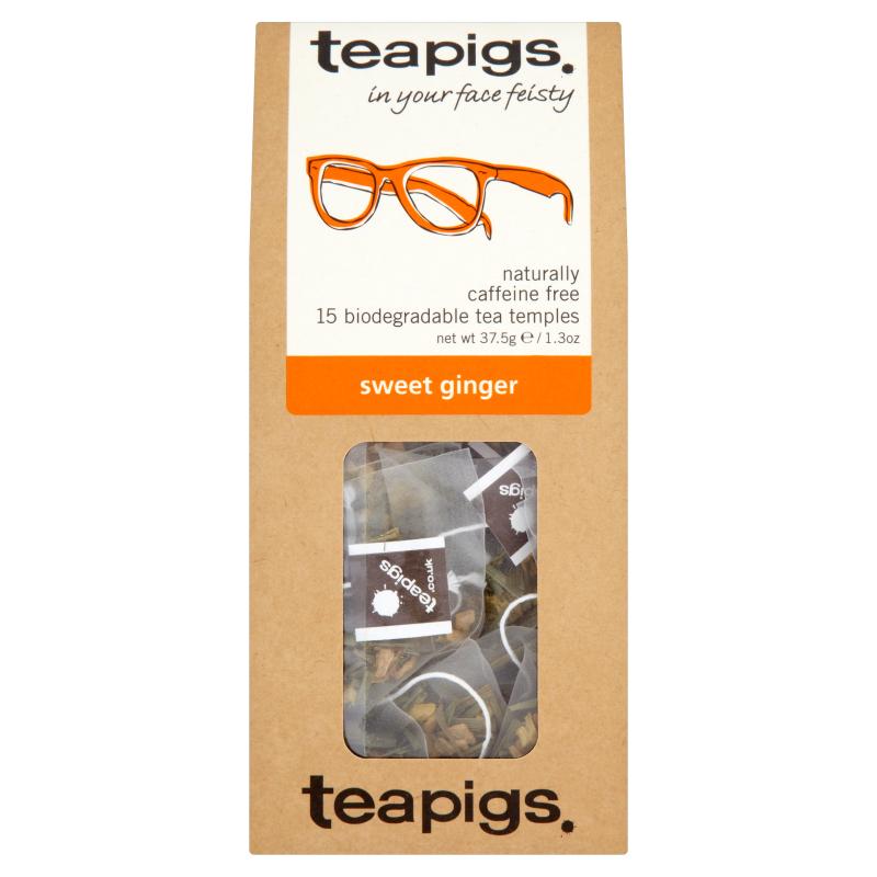 Infusion au gingembre doux, Teapigs (x 15 sachets)