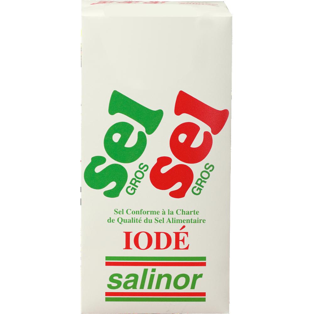 Gros sel Iodé, Salinor (1 kg)