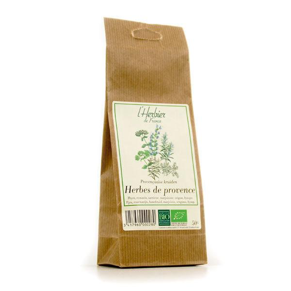 Herbes de Provence BIO, Herbier de France (50 g)