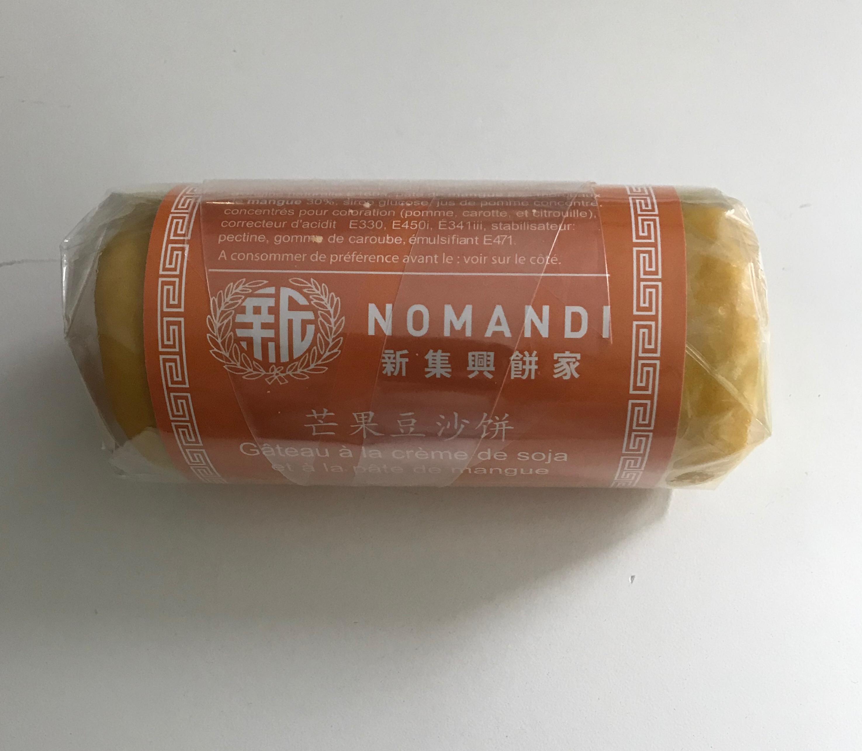 Gateau à la crème de soja et à la pâte de mangue, Nomandi (190 g)