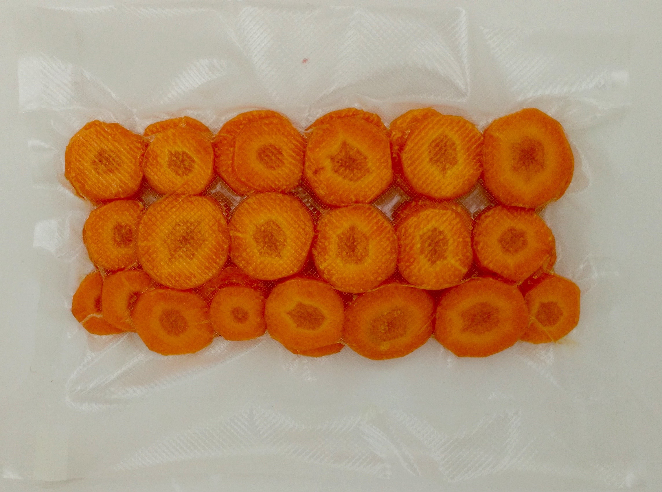 Carottes en rondelles (environ 200 g)