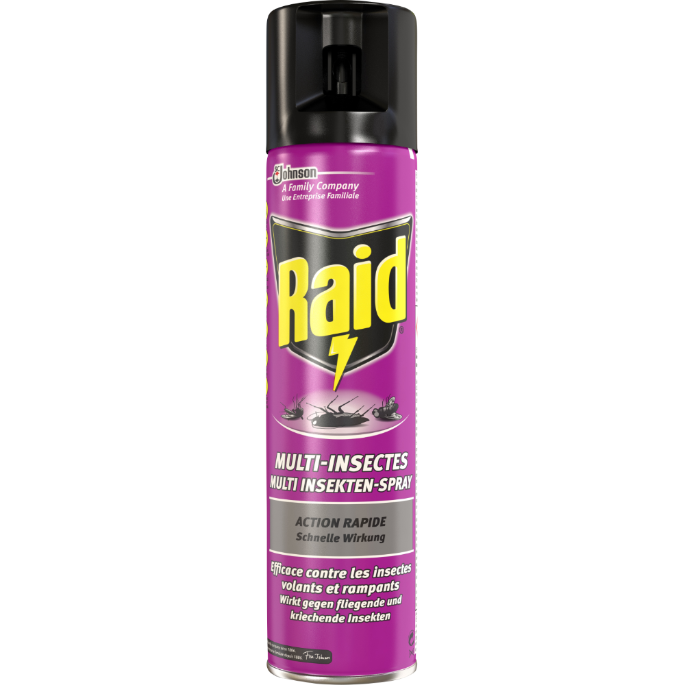 Insecticide Multi-insectes, Raid (400 ml)