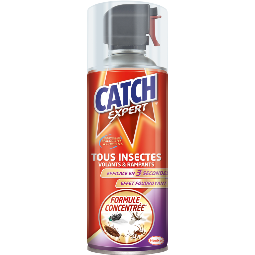 Insecticide tous insectes, Catch (400 ml)