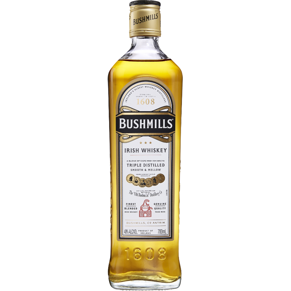 Irish whisky, Bushmills (70 cl)