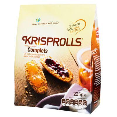 Krisprolls complets (225 g)