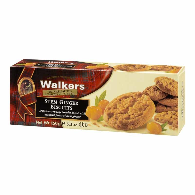Biscuits au gingembre confit, Walkers (150 g)